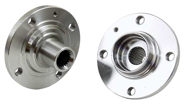 Front Hub, 4x100 PCD, Compatible with Volkswagen 84-87 Golf