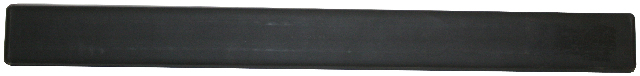 Front Bumper Molding, Rubber Pad, Compatible with VW 80-83 Vanagon