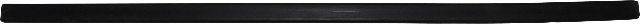 Rear Bumper Molding, Rubber Pad, Compatible with VW 80-83 Vanagon