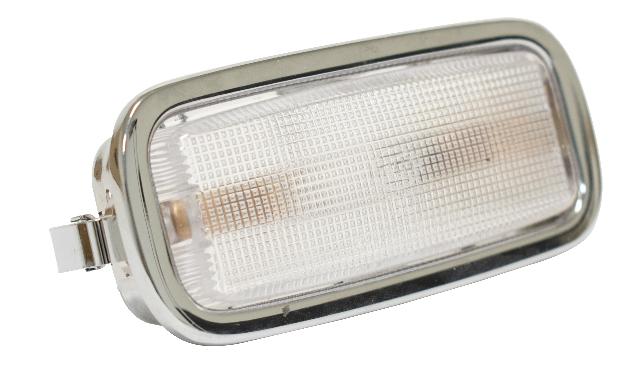 Dome Light w/ Chrome Bezel, Compatible with Porsche All 356B (T6), 356C, 912, 65-78 911