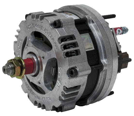 WOSP 12-Volt 175 Amp Alternator, Compatible with Porsche 78-83 911, 78-83 930