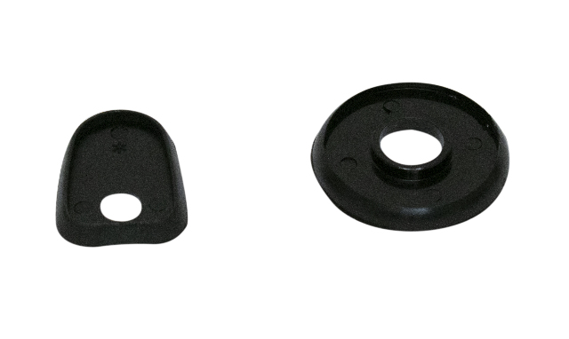 Hood Handle Seals, 2pcs, Compatible with VW Early 53-67 Bug