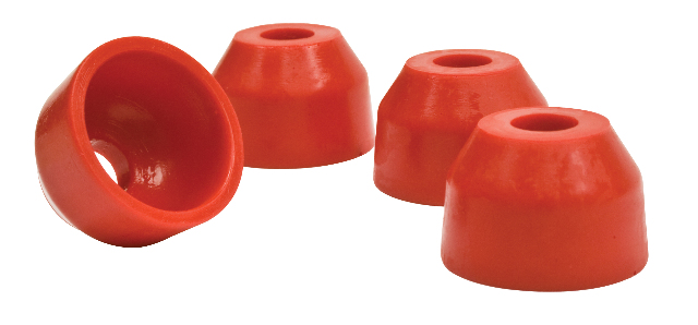 Urethane Tie Rod Boots, Stock VW, (4), Red, Compatible with VW Stock, Dune Buggy