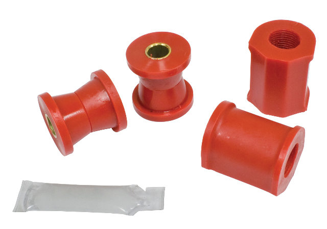 "Sway Bar Bushing Kit, Front, 3/4"" Super Beetle 71-73, Red"
