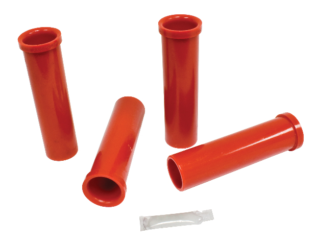 Bushing Kit, In/Out, Micarta Link Pin, Red, Compatible with VW Dune Buggy, Baja Bug