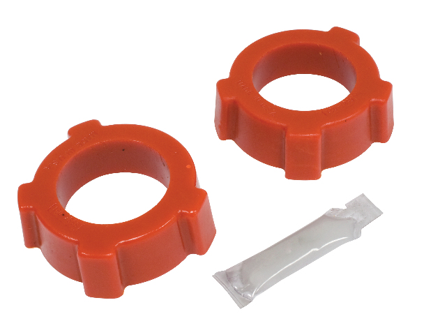 "Knobby Type Grommets, 2"" I.D., Pair, Red"