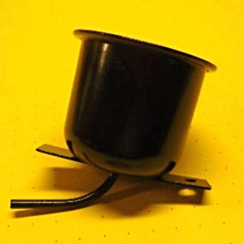 VW Bug  58- 60  Metal  Brake Master Cylinder Reservoir , 113 611 301B