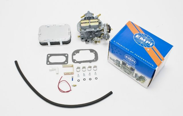EMPI 38E Performance Carb Kit Elec Choke Fits BMW 2002 68-76 1970cc 2-BBL Solex