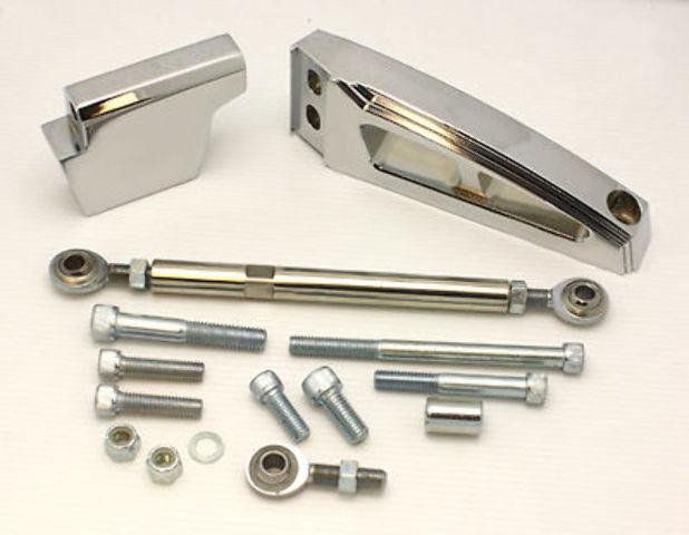Polished Aluminum Big Block Chevy BBC Air Condition AC Bracket SWP Hot Rod V8