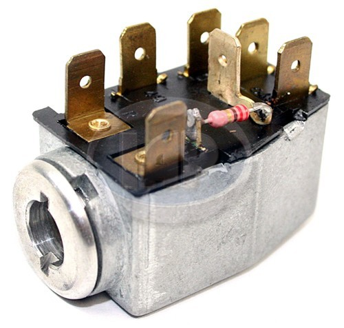 IAP 211953235A  Emergency Flasher Switch T-1 68-73/SB 71-72/T-2/3 68-72