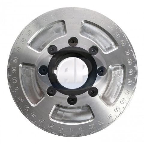 "5-1/4"" Street Power Crankshaft Power Pulley, Silver For Air-Cooled VW"