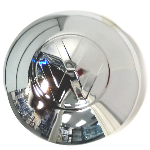 Moonstyle Hub Cap, Large VW Logo, Chrome For Bug, Bus, Ghia, Thing