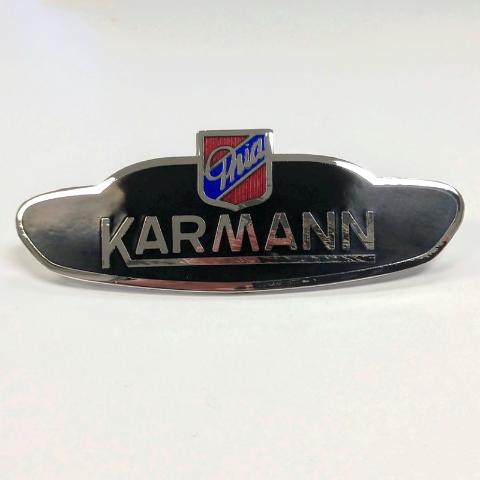 Side Body Badge Emblem Logo, VW Volkswagen Karmann Ghia 1956-1974