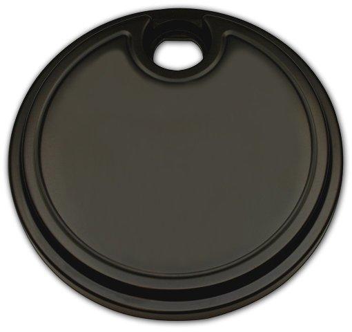 Fuel Door,  Smooth, Black, For '08-19 Fits FLHT/FLHX/FLTR H-D TRIKE