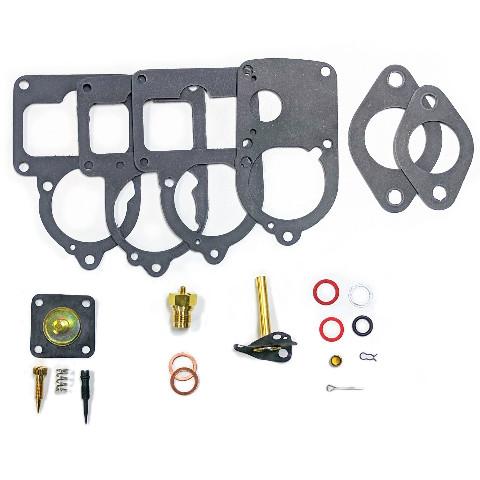 RADKE VW SOLEX CARB REBUILD KIT, VW BUG / BEETLE 28 PICT-34-3 113-198-575U, 21 pc. KIT