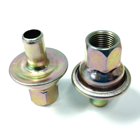Check Valves For Universal Crankcase Evacuation System Zinc Finish