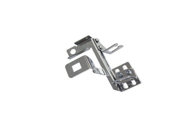 Chrome Carburetor Linkage Plate Square Carb Bracket Throttle Return Holley AFB