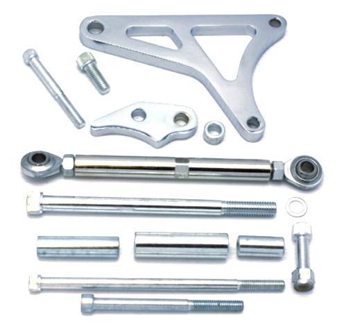 Chrome Aluminum Alternator Bracket Fits Ford Mustang 289 - 302