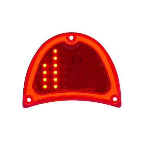 32 LED Sequential Tail Light For 1957 Chevy Passenger Car, Each