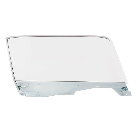 Complete Clear Door Glass Assembly For 1965-66 Ford Mustang Convertible - R/H