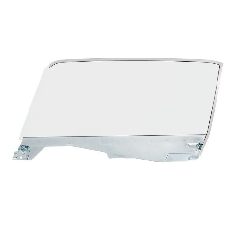 Complete Clear Door Glass Assembly For 1965-66 Ford Mustang Convertible - L/H