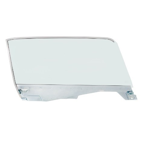 Complete Tint Door Glass Assembly For 1965-66 Ford Mustang Convertible - R/H