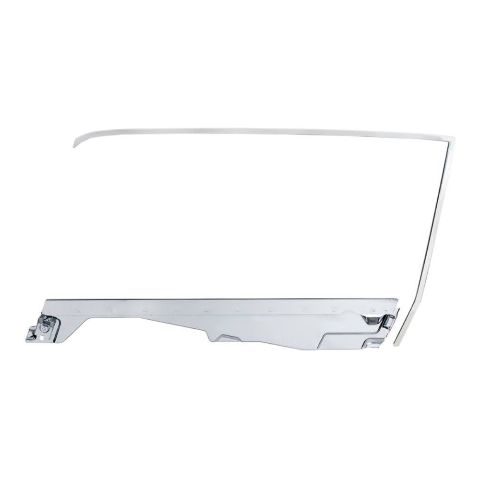 Door Glass Frame Kit For 1965-66 Ford Mustang Coupe -  L/H