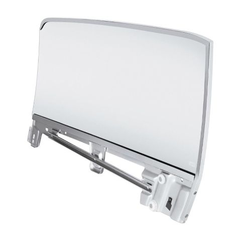 Complete Clear Door Glass Assembly For 1967-68 Ford Mustang Convertible - R/H