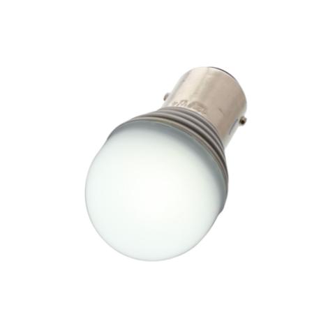 High Power 1157 LED Bulb - White  Hot Rat street Rod Motorcycle Off-Road Custom