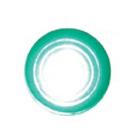 "Super Bright LED Indicator Light w/ Green Lens Fits 1/4"" - Hot Rod Rat Rod Custo"