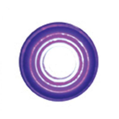 "Super Bright LED Indicator Light Purple Lens Fits 1/4"" - Hot Rod Rat Rod Custom"