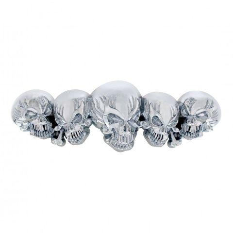 Universal Chrome Skull Accent