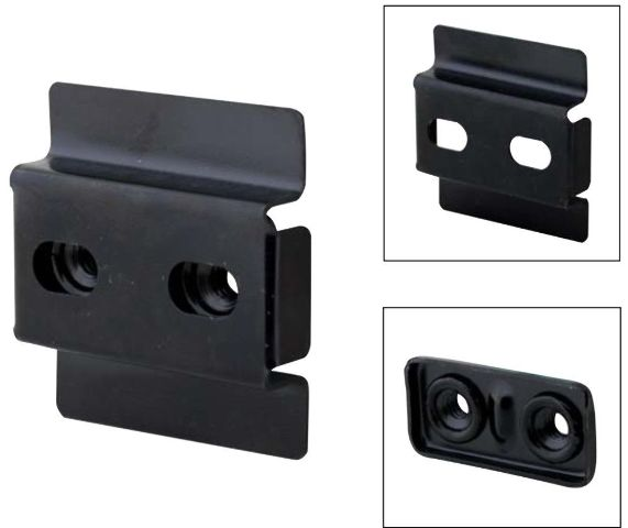 Door Striker Mounting Nut Plate Kit For 1932 Ford Closed Car, Set