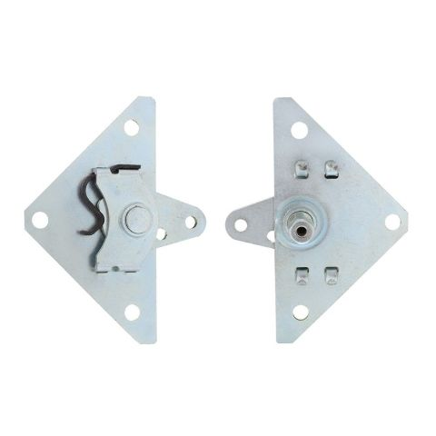 Inside Door Handle Shaft Remote Relay Triangle Set / Pair, 1932-34 Ford Truck