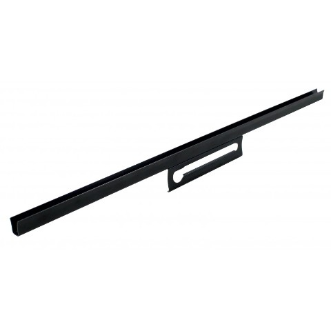 1932-34 Ford Pickup Truck Lower Door Glass Channel, L/H
