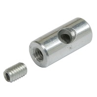 Throttle Cable Barrel Nut, Each, For Stock Carbs