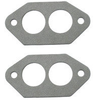 EMPI VW Bug Intake Manifold Dual Port Gaskets w/o Pin Holes, Pair 3251