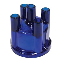 EMPI  VW BUG BUGGY BUS GHIA SAND RAIL BAJA TYPE 3 009 DISTRIBUTOR CAP,BLUE 8792