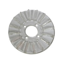 EMPI VW Clear Finned Alt/Gen Pulley Cover - 8925