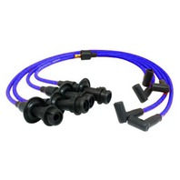 90 Degree Suppressed Ignition Wires, Blue, Compatible with VW Type 1-2-3 Engines