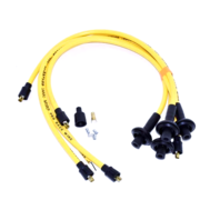 TAYLOR 409 SPARK PLUG WIRES, 10.4mm, Yellow, For Type 1 VW, Dunebuggy & VW
