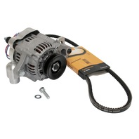 Smallternator Alternator 55-60 Amp Kit, Compatible with Volkswagen Type 3