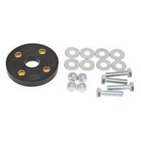 Urethane Steering Coupler Kit, Black, Compatible with VW Type 1 Bug, Karmann Ghia, Type 3