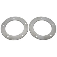 "Aluminum Wheel Spacers, Pair, 14mm, 5x205, 3/8"" Thick, For VW Beetle/Bug/Dune Buggy"