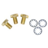 Low Profile Cam Bolts and Washers, Set, Compatible with VW Air-Cooled 1200-1600cc