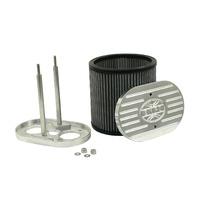 EMPI VW BUG BILLET AIR CLEANER 40-48  WEBER IDF HPMX DRLA 7 X 4-1/2 X 6  43-6016