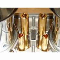 44-1045 EMPI D 44mm carb only, w/chrome Velocity stacks for dual carb set-ups