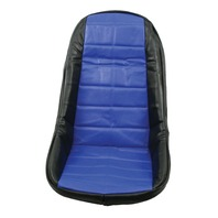 VW BUG BAJA ROCK CRAWLER SAND RAIL LOW-BACK VINYL SEAT COVER, BLUE