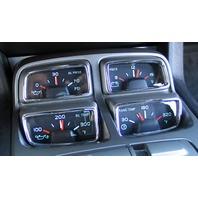 Pirate Mfg CA0009SC 2010-13 Chevrolet Camaro 4pc Chrome Billet Gauge Trim Set