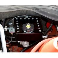 CA0022-1SB  2010-2014 Camaro Rivet Black Billet Master Cylinder Cover